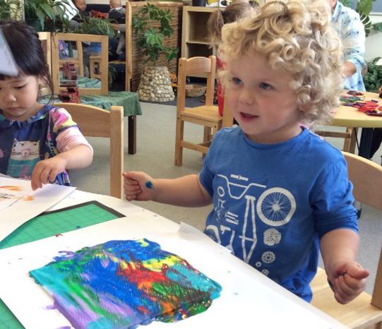 Rangeview Pre-School has two 3 Year Old classes: Willow & Jacaranda.